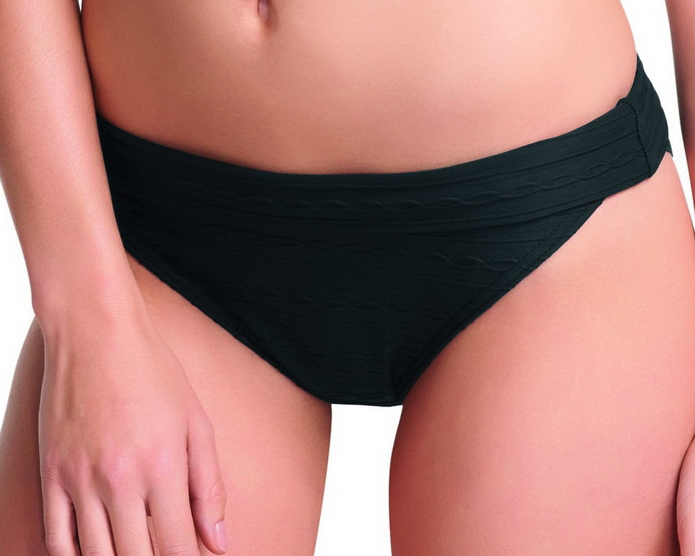 bdb486a270 SHOWBOAT visszahajtós bikini alsó - fekete ― Fehérnemű Nagykereskedés