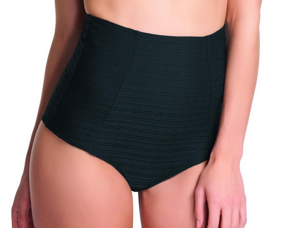 3e1acad585 SHOWBOAT magas derekú bikini alsó - fekete ― Fehérnemű Nagykereskedés